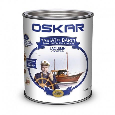 Lac pentru lemn Oskar Yacht 3 in 1 Stejar 0.75L