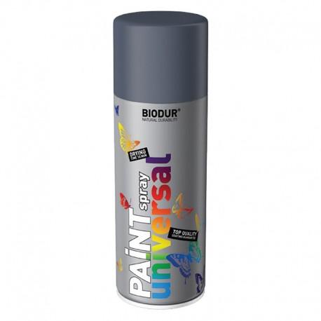 Spray vopsea Biodur Gri inchis RAL 7046