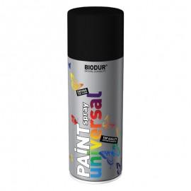 Spray vopsea Biodur Negru mat RAL 9005