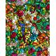 Folie geamuri Vitralii Tulia 90cm