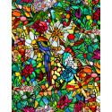 Folie geamuri Vitralii Tulia 90 cm