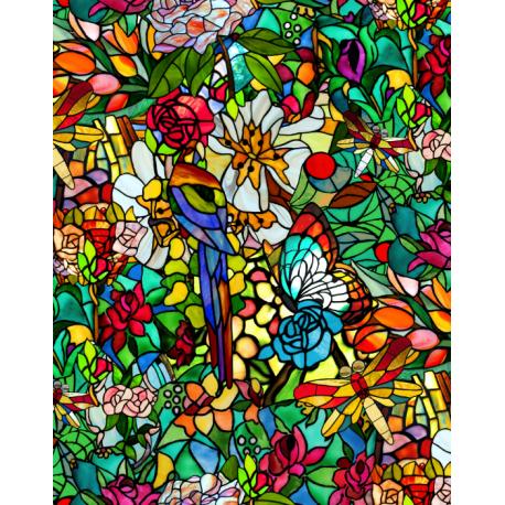 Folie geamuri Vitralii Tulia 45cm