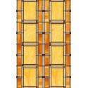 Folie geamuri Vitralii chihlimbar 45 cm