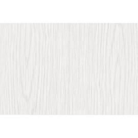 Autocolant furnir Pin alb mat 90cm