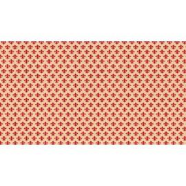 Autocolant decorativ Pitti rosu 45cm