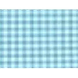 Autocolant decorativ Carouri albastre 45cm