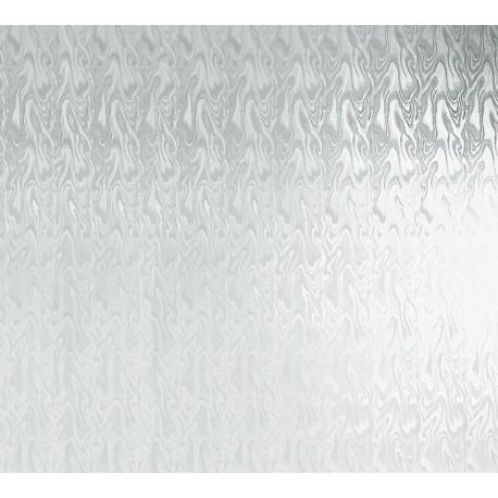 Folie geamuri Fum alb 45cm