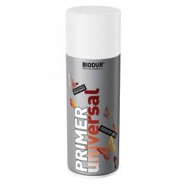 Spray vopsea Biodur Alb pur lucios RAL 9010