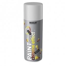 Spray crom vopsea argintie Biodur Chrome Effect