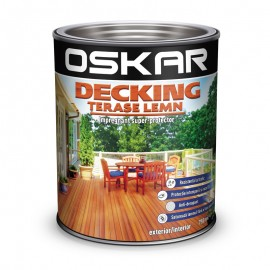 Lac Oskar Decking terase lemn Teak 0.75l