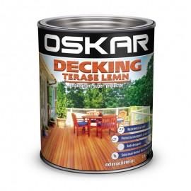 Lac Oskar Decking terase lemn Teak 2.5l