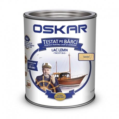 Lac pentru lemn Oskar Yacht 3in1 incolor 0.75L