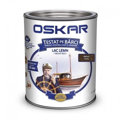 Lac pentru lemn Oskar Yacht 3in1 Mahon inchis 0.75L