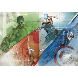 Fototapet Avengers Graphic Art