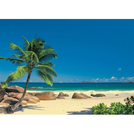 Fototapet Plaja Seychellen
