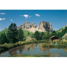 Fototapet Peisaj montan Alpii Dolomiti