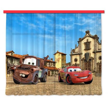 Perdele camere copii Cars 2