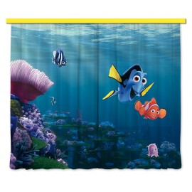 Perdele camere copii Finding Nemo