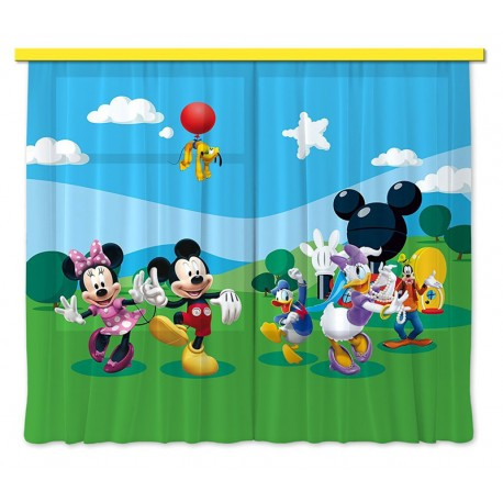 Perdele camere copii Mickey Mouse