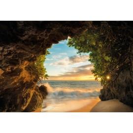 Fototapet Pestera langa plaja