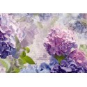 Fototapet Model floral Hortensii