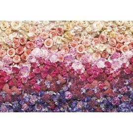 Decorare cu Fototapet Mare de flori