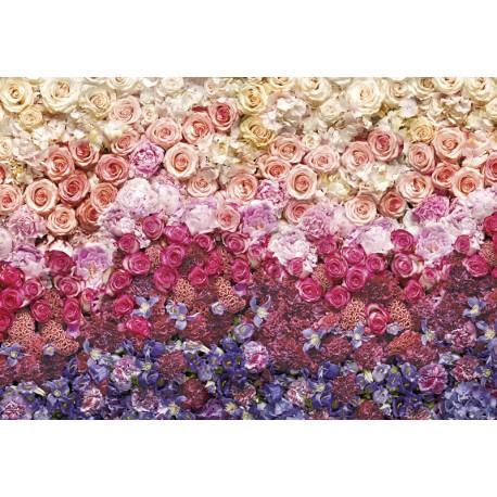 Fototapet Mare de flori
