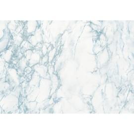 Autocolant marmura Cortes bleu - gri 45 cm