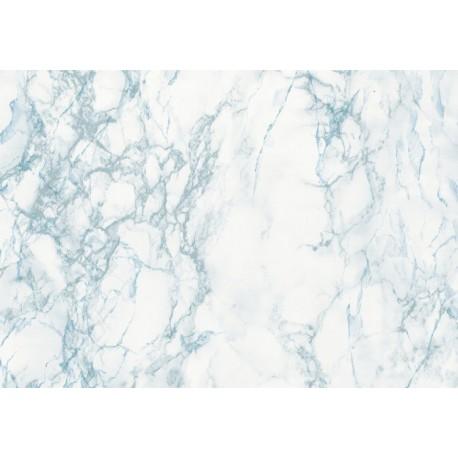 Autocolant marmura Cortes bleu - gri 45cm
