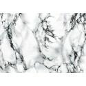 Autocolant marmura alba 45cm