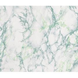 Autocolant marmura verde 90cm