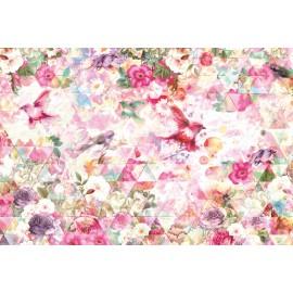 Decorare cu Fototapet Caleidoscop floral