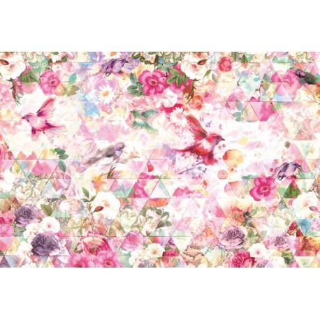 Fototapet Caleidoscop floral