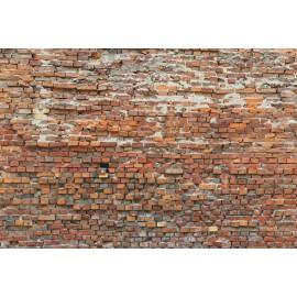 Decorare cu Fototapet Zid rustic de caramida