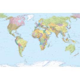 Fototapet Harta Lumii