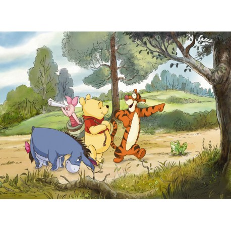 Fototapet Winnie the Pooh Expedition