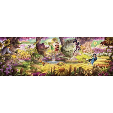 Fototapet Tinkerbell - Fairies Forest