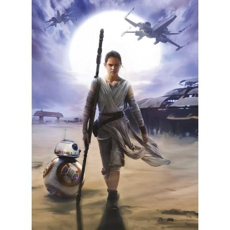 Fototapet Star Wars Rey
