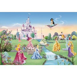 Fototapet Castelul Printeselor Disney