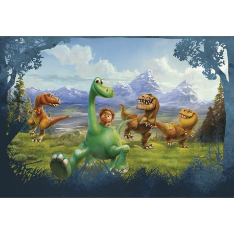 Fototapet The Good Dinosaur - Arlo si Spot