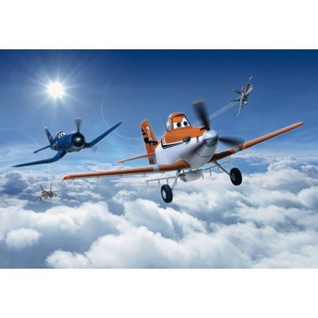 Fototapet Planes - Cursa deasupra norilor