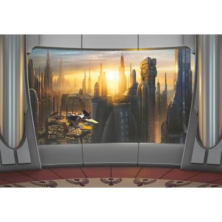 Fototapet Star Wars Coruscant