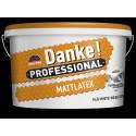 Danke Professional MATTLATEX 15L - vopsea lavabila alba