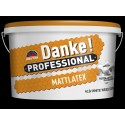 Danke Professional MATTLATEX 8.5L - vopsea lavabila alba