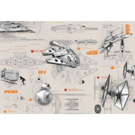 Fototapet Star Wars Nave Intergalactice