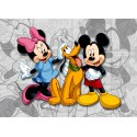 Fototapet Minnie si Mickey Mouse