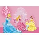 Fototapet Printese Disney in Castelul roz