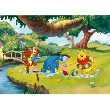 Fototapet Winnie the Pooh la scaldat