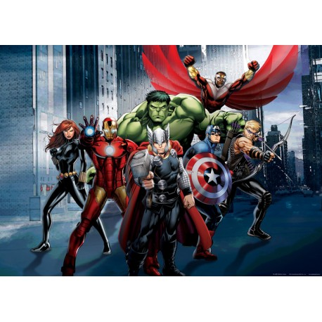 Fototapet Avengers