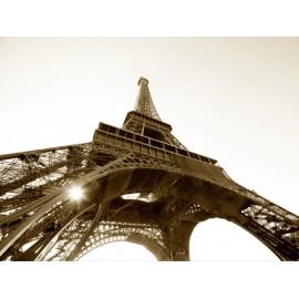 Fototapet Turnul Eiffel Sepia